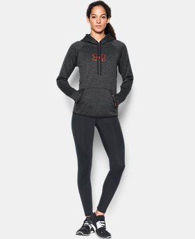 New to Outlet Women's UA Logo Caliber Hoodie LIMITED TIME OFFER 8 Colors $29.99
