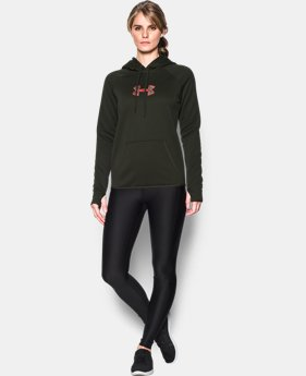 Women's UA Logo Caliber Hoodie  1 Color $26.99 to $36.74