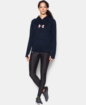 Women's UA Logo Caliber Hoodie 40% OFF: CYBER WEEKEND ONLY 1 Color $29.99