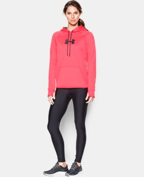 Women's UA Logo Caliber Hoodie  1 Color $56.99