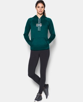 New to Outlet Women's UA Logo Caliber Hoodie LIMITED TIME OFFER 2 Colors $29.99