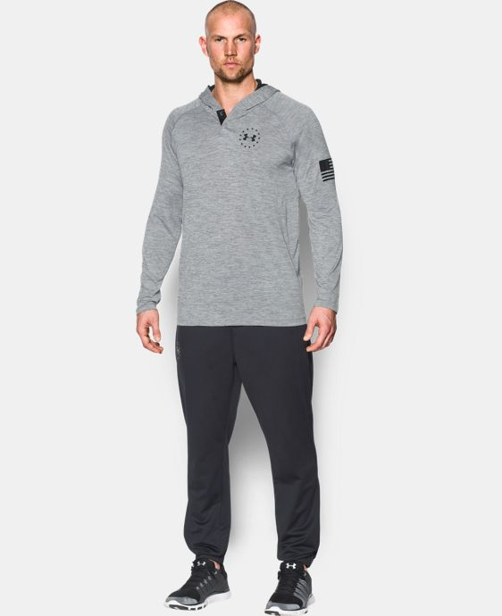 New Arrival Men's UA Freedom Tech™ Popover Hoodie  2 Colors $44.99