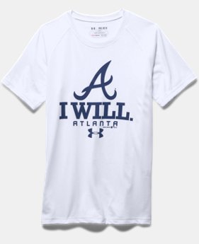 Boys' Atlanta Braves I Will UA Tech™ T-Shirt