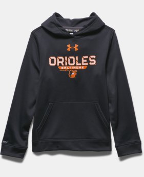 Boys' Baltimore Orioles UA Storm Armour® Fleece Hoodie