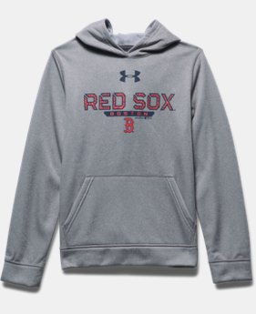Boys' Boston Red Sox UA Storm Armour® Fleece Hoodie