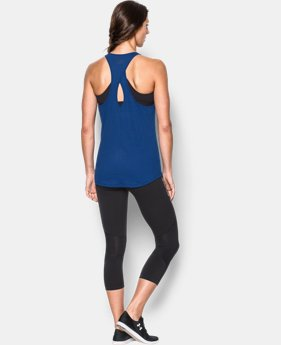Women's UA Microthread  Tank  1 Color $18.99