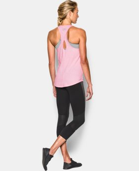 Women's UA Microthread Tank  1 Color $22.99