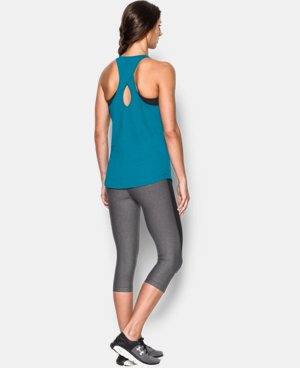 Women's UA Microthread  Tank LIMITED TIME: FREE U.S. SHIPPING 1 Color $17.99 to $18.99