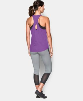 Women's UA Microthread  Tank LIMITED TIME: FREE U.S. SHIPPING  $24.99