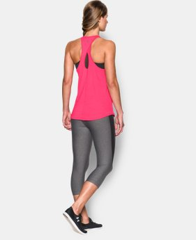 Women's UA Microthread  Tank  1 Color $17.99
