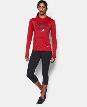 New to Outlet Women's Atlanta Braves November UA French Terry Hoodie LIMITED TIME: FREE U.S. SHIPPING 1 Color $52.99