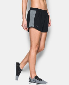 Women's UA Fly-By Perforated Run Short LIMITED TIME: FREE SHIPPING 1 Color $34.99