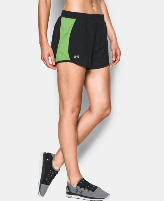 Women's UA Fly-By Perforated Run Short  2 Colors $29.99