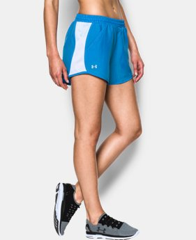 Women's UA Fly-By Perforated Run Short LIMITED TIME: FREE SHIPPING 1 Color $29.99