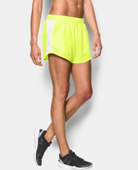Women's UA Fly-By Perforated Run Short LIMITED TIME: FREE SHIPPING 3 Colors $29.99