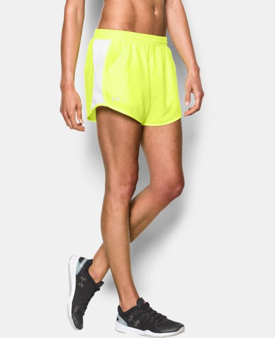 Women's UA Fly-By Perforated Run Short  1 Color $17.99 to $22.99