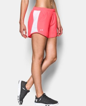 Women's UA Fly-By Perforated Run Short LIMITED TIME: FREE SHIPPING 2 Colors $29.99