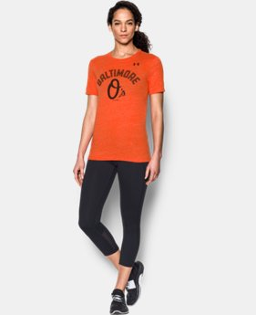 New to Outlet Women's Baltimore Orioles UA Tri-Blend   1  Color Available $26.24