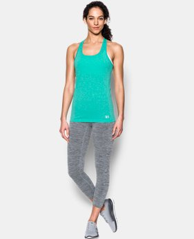 New Arrival Women's UA Threadborne Seamless Heathered Tank  1 Color $39.99