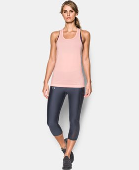 Women's UA Threadborne Seamless Heathered Tank  1 Color $44.99