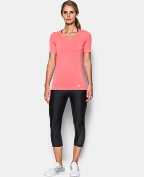 Women's UA Threadborne™ Seamless Heathered Short Sleeve  2 Colors $44.99