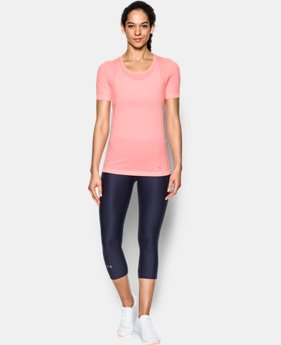 Women's UA Threadborne™ Seamless Heathered Short Sleeve  1 Color $44.99
