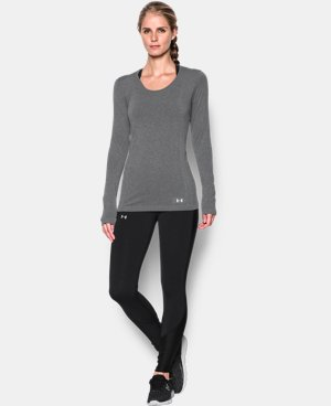 Women's UA Threadborne Seamless Heathered Long Sleeve LIMITED TIME: FREE U.S. SHIPPING 1 Color $54.99