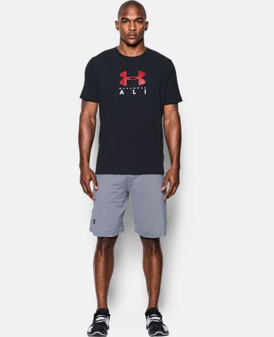 Men's UA x Muhammad Ali Sportstyle T-Shirt LIMITED TIME: FREE U.S. SHIPPING 1 Color $34.99