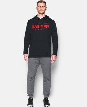 New Arrival  Men's UA x Muhammad Ali Bad Man Hoodie   $59.99