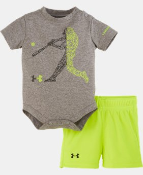 Boys' Newborn UA Baseball Bodysuit Set