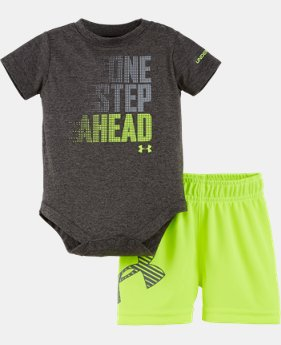 Boys' Newborn UA One Step Ahead Bodysuit Set