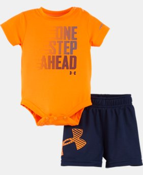 Boys' Newborn UA One Step Ahead Bodysuit Set   $24.99