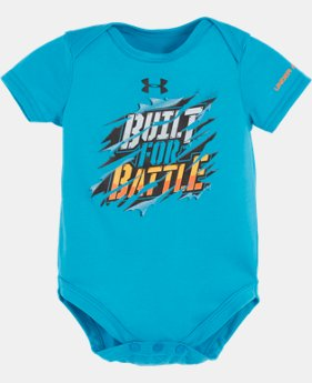 Boys' Newborn UA Built For Battle Bodysuit