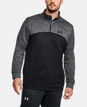 Best Seller Men's UA Storm Armour Fleece® ¼ Zip  2 Colors $54.99