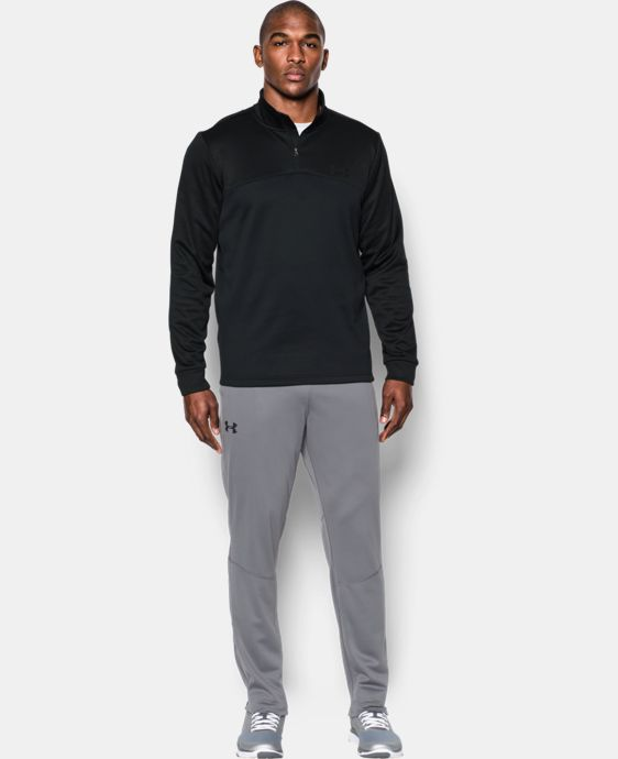 Men's Armour® Fleece ¼ Zip LIMITED TIME: FREE SHIPPING 17 Colors $48.74