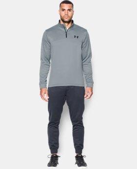 Men's UA Storm Armour® Fleece ¼ Zip  5 Colors $31.49 to $41.99