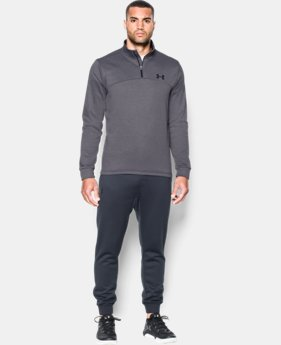 Men's Armour® Fleece ¼ Zip  4 Colors $54.99