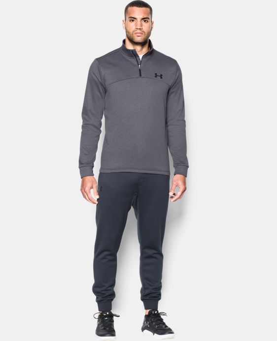 Men's Armour® Fleece ¼ Zip  4 Colors $48.74