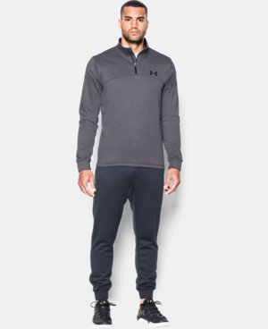 Men's Armour® Fleece ¼ Zip LIMITED TIME: FREE SHIPPING 4 Colors $48.74
