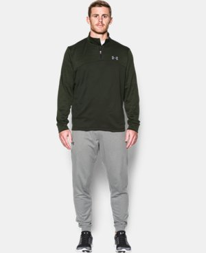 Men's Armour® Fleece ¼ Zip LIMITED TIME: FREE SHIPPING 2 Colors $48.74
