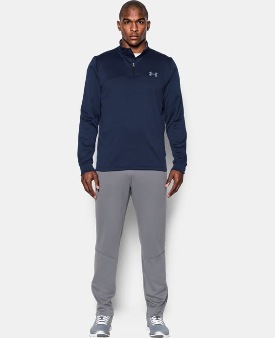 Men's Armour® Fleece ¼ Zip LIMITED TIME: FREE SHIPPING 1 Color $48.74