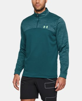 Best Seller  Men's UA Storm Armour Fleece® ¼ Zip  1  Color Available $64.99