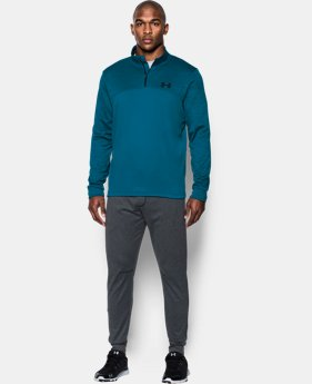 Men's Armour® Fleece ¼ Zip  3 Colors $41.99