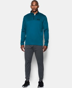 Men's Armour® Fleece ¼ Zip LIMITED TIME: FREE U.S. SHIPPING 3 Colors $41.24