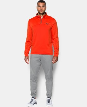 New Arrival  Men's UA Storm Armour® Fleece ¼ Zip  1 Color $64.99