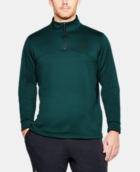 Men's UA Storm Armour Fleece® ¼ Zip  7  Colors Available $38.99 to $48.74