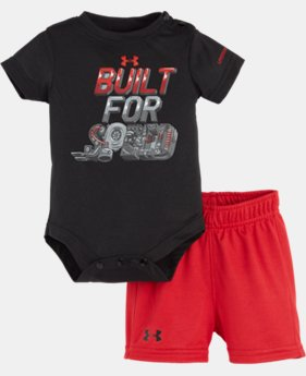Boys' Newborn UA Built For Speed Bodysuit Set