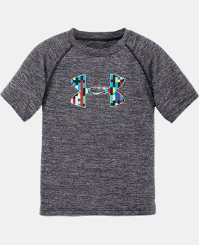 Boys' Pre-School UA Multi-Pixel Big Logo T-Shirt