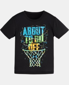 Boys' Pre-School UA About To Go Off T-Shirt