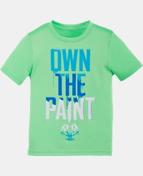 Boys' Pre-School UA Own The Paint T-Shirt